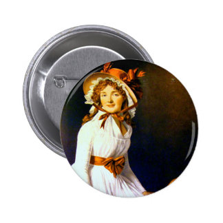 Jacques-Louis David Art Pinback Button