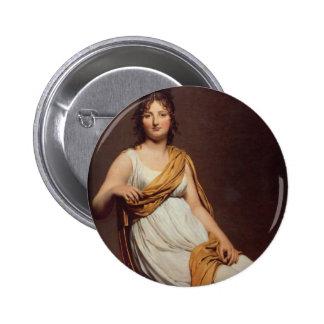 Jacques-Louis David Art Button