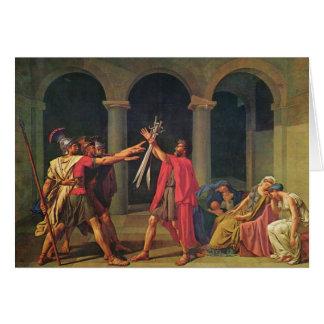 Jacques-Louis David Art Greeting Card