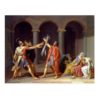 Jacques-Louis David Art Postcard