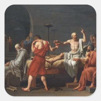 Jacques-Louis David Art Square Sticker