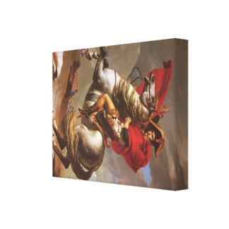 Jacques-Louis David Art Stretched Canvas Print