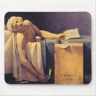 Jacques-Louis David Death Of Marat Mousepads