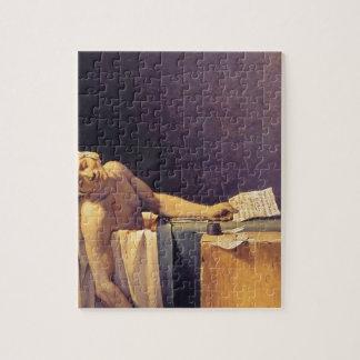 Jacques-Louis David Death Of Marat Puzzles
