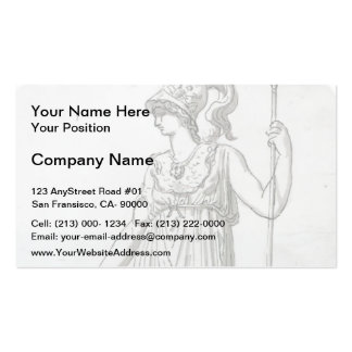 Jacques-Louis David: Minerva Business Cards