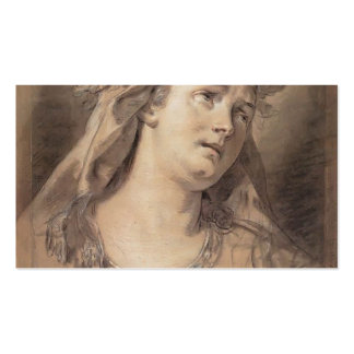 Jacques-Louis David- Sorrow Business Cards