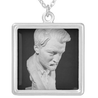 Jacques Maritain Silver Plated Necklace