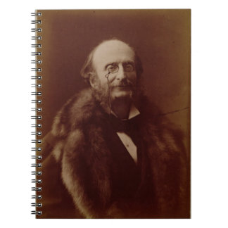 Jacques Offenbach (1819-80), German composer, port Note Book