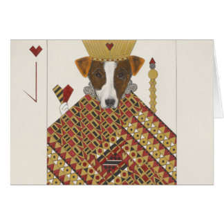Jacques, the Smooth Fox Terrier Card