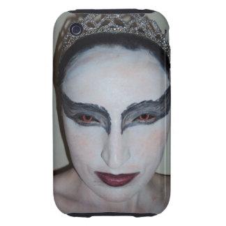 Jacqui B Black Swan iPhone 3G/3GS Case-Mate Tough™ Tough iPhone 3 Cover