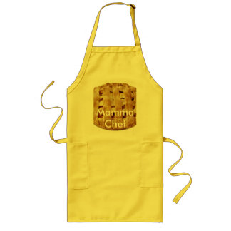 JAD pie clip art, Mamma Chef Long Apron