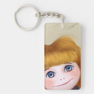 Jada Doll blue eyes Key Chain Acrylic Key Chain