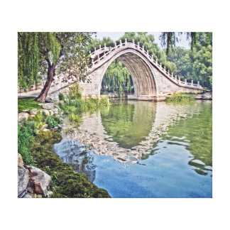 Jade Belt Bridge Canvas Print