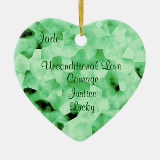 Jade Ceramic Ornament