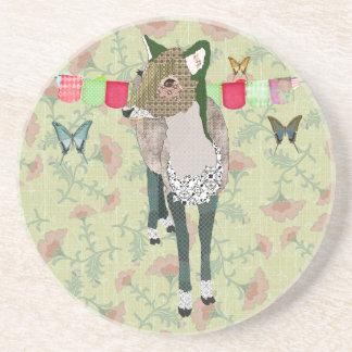 Jade Deer Asian Coaster