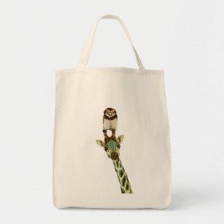 Jade Giraffe & Owl Hawk Bag