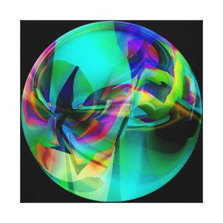 Jade Globe Canvas Print