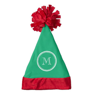 Jade High End Colored Personalized Santa Hat