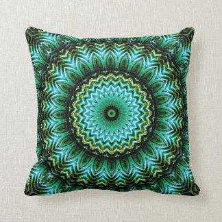 Jade Mandala Cushion