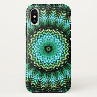 Jade Mandala iPhone X Case