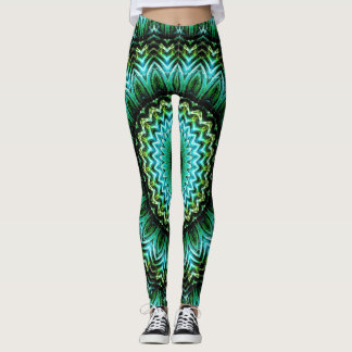 Jade Mandala Leggings