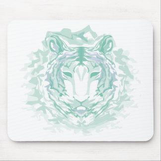 Jade mountain tiger mouse pad