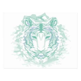 Jade mountain tiger postcard