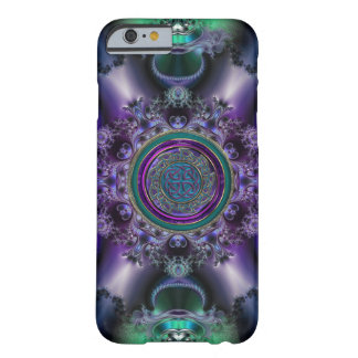 Jade 'n Amethyst Celtic Fractal iPhone 6 Case Barely There iPhone 6 Case