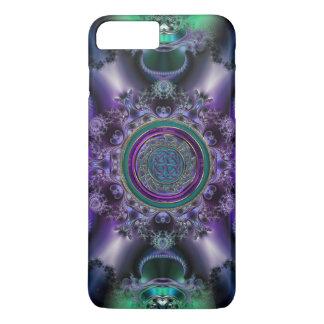 Jade 'n Amethyst Celtic Fractal iPhone 7 Plus Case