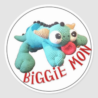 Jade the Biggie Mon sticker