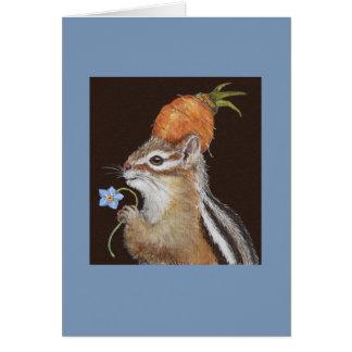 Jade the chipmunk card