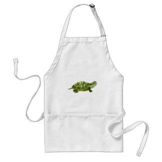 Jade Turtle Apron