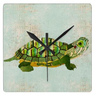Jade Turtle Clock