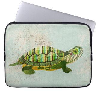 Jade Turtle Computer Sleeve