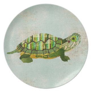 Jade Turtle Plate