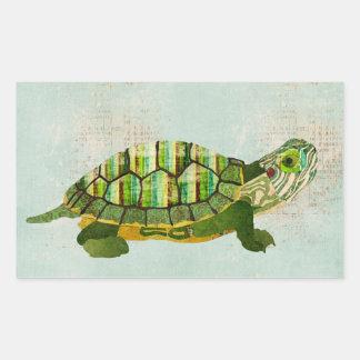 Jade Turtle Sticker