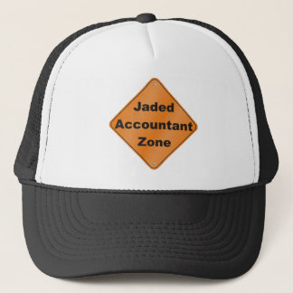 Jaded Accountant Zone Trucker Hat