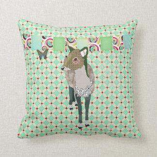 Jaded Deer Mojo Pillow Cushion