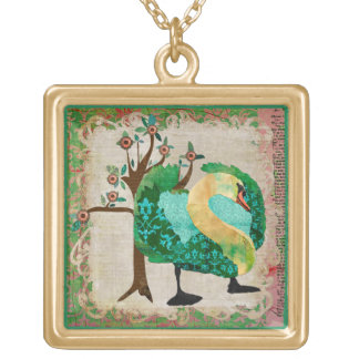 Jaded Swan Necklace