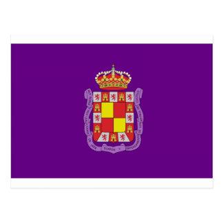 Jaén Flag Postcard