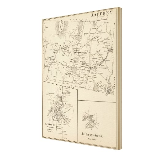 Jaffrey, Cheshire Co Stretched Canvas Prints