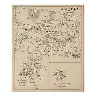 Jaffrey, Cheshire Co Poster