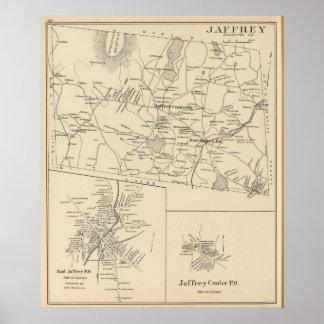 Jaffrey, Cheshire Co Poster