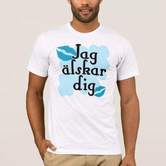 Jag älskar dig - Swedish I Love You T-Shirt