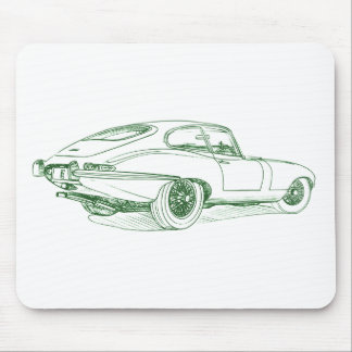 Jag E type Mouse Pad
