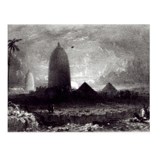 Jagannath Temple, engraved by A. Picken, 1837 Postcard