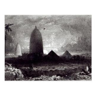 Jagannath Temple, engraved by A. Picken, 1837 Postcard