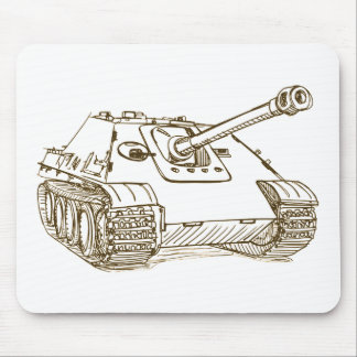JagdPanther German Tank Mouse Pad