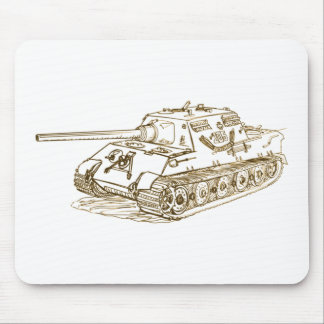 JagdTiger German Tank Mouse Pad