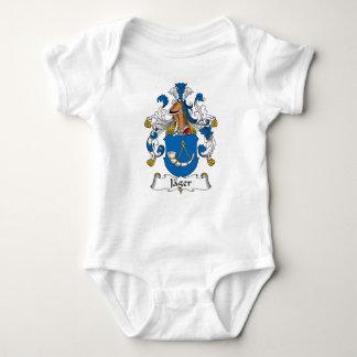 Jager Family Crest Baby Bodysuit